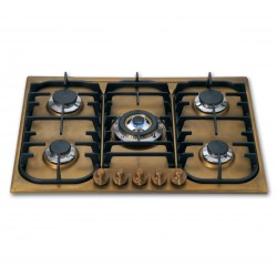 گاز رو کار  restart Officine Gullo|Hobs Brass 70
