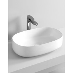 کاسه روشویی روکار  Art.Ceram | Cognac Countertop Washbasin 55X35X14.5
