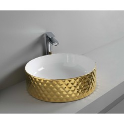 کاسه روشویی روکار Art.Ceram | Rombo Countertop Washbasin 44X14.5